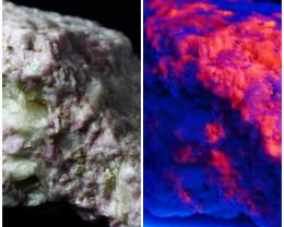 1278 ct Rare Combination of Tenebresent Purple Hackmanite
