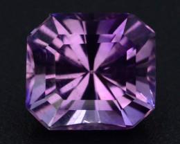 3.15 CT Natural Gorgeous Color Fancy Cut Amethyst A.Q