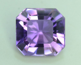AAA Color 6.95 ct Untreated Amethyst ~ AS