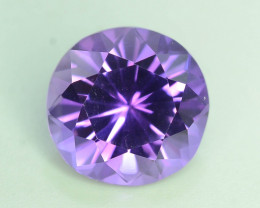 AAA Color 5.00 ct Untreated Amethyst ~ AS