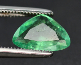 Emerald Superb Color 1.00 Ct Natural Emerald From Panjsher Emerald
