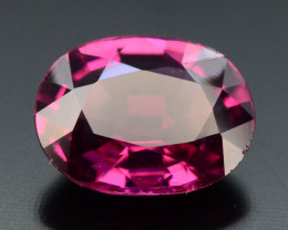 Rarest 2.0 ct Grape Garnet one of a Kind Fire