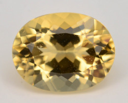 1.30 Ct Natural Heliodor AAA Grade Yellow Color t