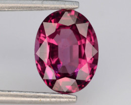 Rarest 2.25 ct Grape Garnet one of a Kind Fire