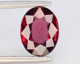 Rarest 1.95 ct Grape Garnet one of a Kind Fire