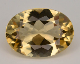 1.85 Ct Natural Heliodor AAA Grade Yellow Color t