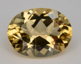 1.55 Ct Natural Heliodor AAA Grade Yellow Color t