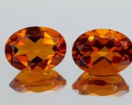 2.45Crt Madeira Citrine Natural Gemstones JI26