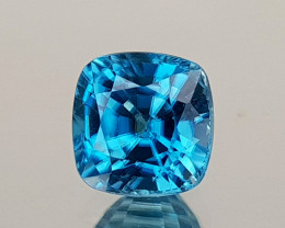 1.53Crt Blue Zircon Natural Gemstones JI26