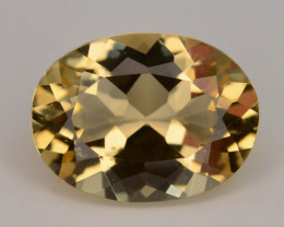1.05 Ct Natural Heliodor AAA Grade Yellow Color t