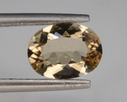 0.90 Ct Natural Heliodor AAA Grade Yellow Color t