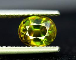 Sphene Titanite, 1.90 CT Natural Full Fire Sphene Titanite Gemstone