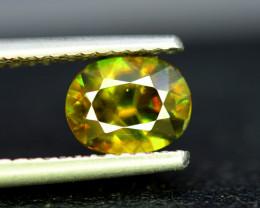 Sphene Titanite, 1.75 CT Natural Full Fire Sphene Titanite Gemstone