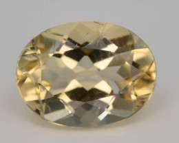 1.10 Ct Natural Heliodor AAA Grade Yellow Color t