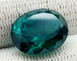 9.15CT GREEN TOPAZ COATED BEST QUALITY GEMSTONE IIGC51