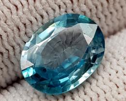 2.89CT BLUE ZIRCON BEST QUALITY GEMSTONE IIGC51