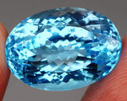 24.09 ct. Natural Earth Mined Top Quality Blue Topaz Brazil
