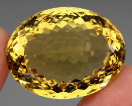 Museum 110.06  ct. Top Quality Natural Earth Mined Golden Yellow Citrine Br