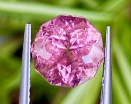 3.3 ct Pink Tourmaline  with fine cutting Gemstone Gemstone