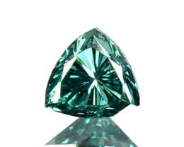 0.08 Cts Natural Diamond Flashing Blue Diamond 2.90mm Fancy Africa