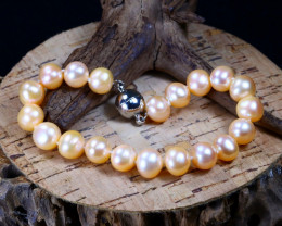 115.25Ct Natural Australian South Sea Pearl Beads Bracelet B2246
