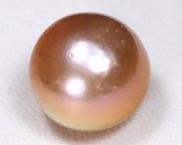 South Sea Pearl 12.1mm Natural Australia Orange Salt Water Pearl B2243
