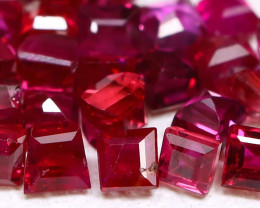 1.47Ct 2.0mm Burmese Ruby Natural Blood Red Ruby Lot B2121