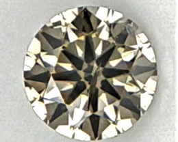 0.07 ct , Grey Overtone Natural Diamond, Diamond For Jewelry