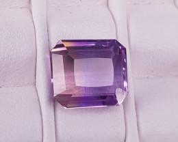 Natural Ametrine Faceted Gems.