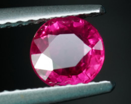 .91CT 5.6mm BURMESE PIGEON BLOOD RUBY with TOP COLOR