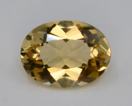 1.20 Ct Natural Heliodor AAA Grade Yellow Color t