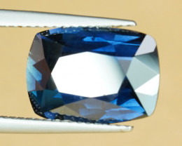 GRS 6.40CT CERTIFIED UNHEATED BLUE SAPPHIRE