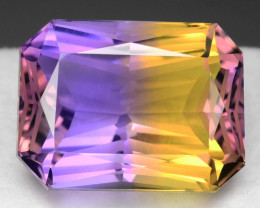 15.73 CT BOLIVIAN AMETRINE TOP CLASS LUSTER GEMSTONE AM1