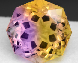 16.20 CT BOLIVIAN AMETRINE TOP CLASS LUSTER GEMSTONE AM5