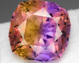 22.35 CT BOLIVIAN AMETRINE TOP CLASS LUSTER GEMSTONE AM8
