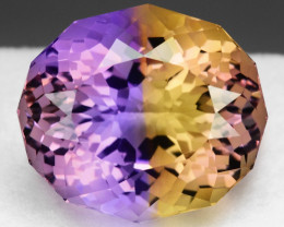 21.08 CT BOLIVIAN AMETRINE TOP CLASS LUSTER GEMSTONE AM9