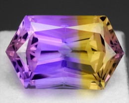 21.81 CT BOLIVIAN AMETRINE TOP CLASS LUSTER GEMSTONE AM10