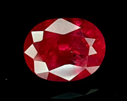 1.27CT NATURAL RUBY HEAT ONLY IGCMR01