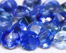 Blue Sapphire 1.45Ct Calibrate 2.20mm Natural Blue Sapphire Lot B2267