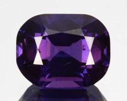 Unheated!2.34Cts Natural Corundum Sapphire Purple Blue  SriLanka Gem (Video