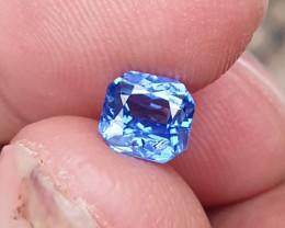 UNHEATED CERTIFIED 1.04 CTS NATURAL BEAUTIFUL CORNFLOWER BLUE SAPPHIRE CEYL