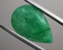 Cts.  8.90 Pear shape facet Zambia Emerald   RFA24