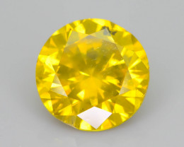 AIG Certified Greenish Yellow Diamond 2.00 ct Top Grade Brilliance SKU-26