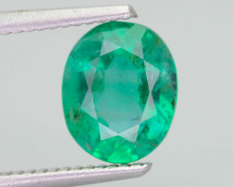 2.32 ct Zambian Emerald Vivid Green Color SKU-36