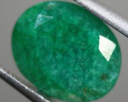 Cts.  2.70 Emerald oval faceted Zambia   RFA60