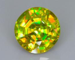 Firey Sphene 1.93 ct Rainbow Brilliance Tanzanian Mine  Sku-62