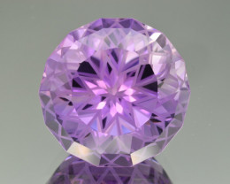 Natural  Amethyst 40.92 Cts Precision Cut Gemstone