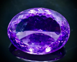 29.56 Crt Natural Amethyst Faceted Gemstone.( AB 45)
