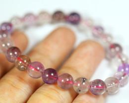 Natural Super Seven Crystal Bracelet
