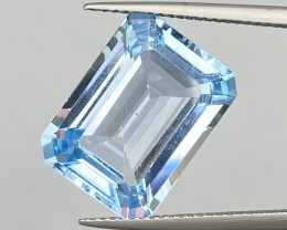 Natural Sky Blue Topaz 13.38 Cts Good Luster